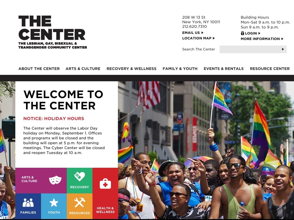 lesbian and gay community center